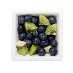 Blueberry and kiwifruit