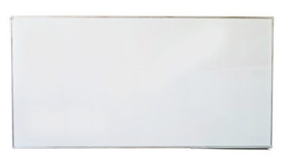 White board isolated