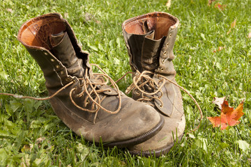 Boots That Worked in the Garden