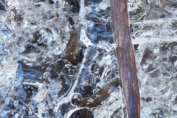 Ice background macro
