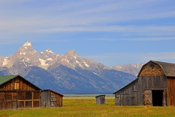 Barn on Mormon Row in Grand Teton National Park, WY