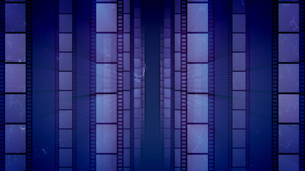 Wonderful Retro Style Film Tape
