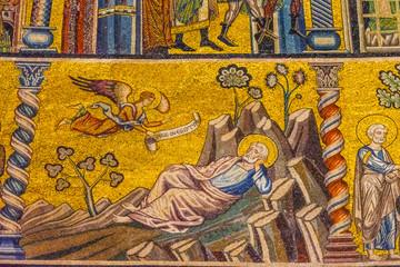Joseph Egypt Mosaic Dome Bapistry Saint John Florence Italy