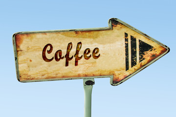 Schild 328 - Coffee