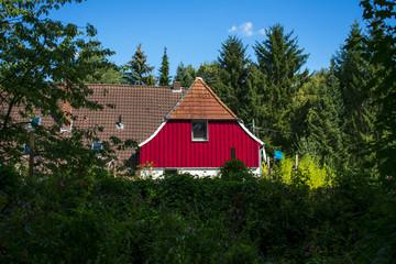 Ländliches Anwesen vom Wald umgeben