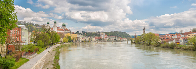 Panoramablick auf Passau