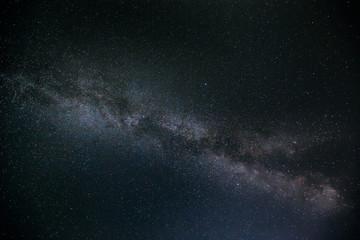 Night Sky Stars With Milky Way Galaxy
