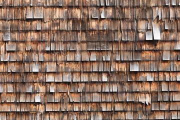 alte Holzschindeln