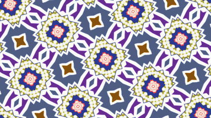 Abstract decorative patterns in Arabic style