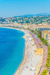 Foto op Canvas Nice Seaside of Nice, France