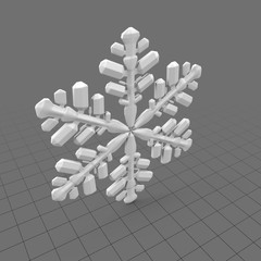 Stylized snowflake