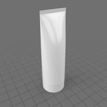 Screw cap cosmetics tube