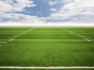 Football Field Composite