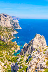 Fototapete - Calanque Sugiton at les Calanques national park in France