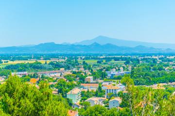 Aerial view of Orange, France