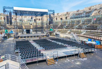 Arena of Nimes, France