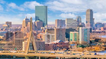 Fotomurales - The skyline of Boston in Massachusetts, USA