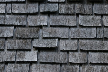 Wooden Shingle on Roof