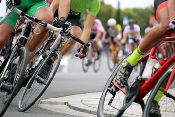 Foto auf Acrylglas Radsport Radrennen