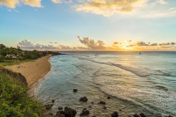 Wall Mural - Boucan Canot Beach at Reunion Island, Africa