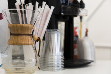 Cofee preperation set