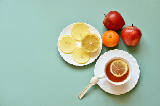 breakfast with fruit