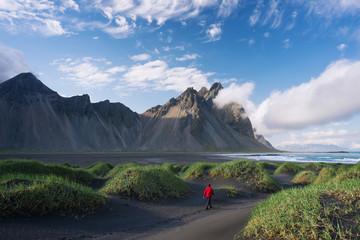 Vestrahorn mountain and Stokksnes, Iceland
