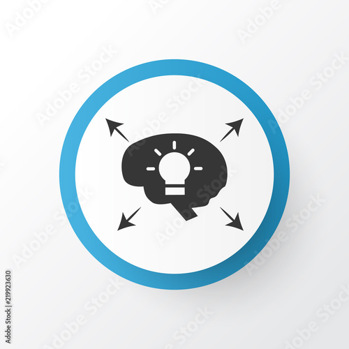 Different Ideas Icon Symbol Premium Quality Isolated Bright Idea Element In Trendy Style