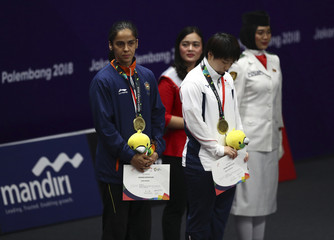 Badminton - 2018 Asian Games - Women's Singles