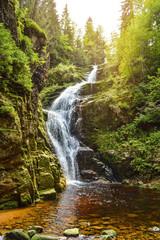 Kamienczyk Waterfall/Karkonosze/Poland