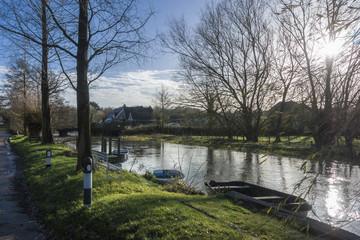 Great Stour River, Chartham, Kent, UK