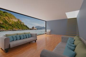 interior design room ideas 3d rendering