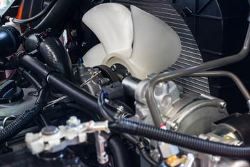 Radiator fan For trucks
