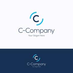 C company logo