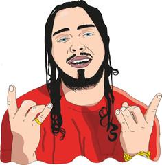 HipHop Style Rapper