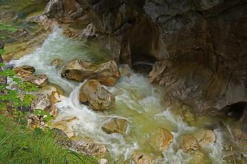 Naturschauspiel Kaiserklamm in Tirol