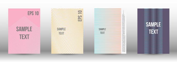 A modern cover design template.