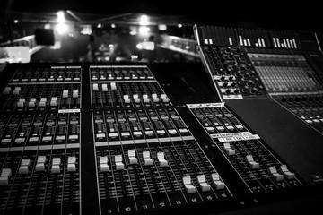 Digital Audio Mixing Console