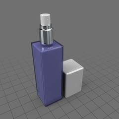 Pump cosmetic bottle