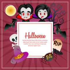 halloween dracula couple