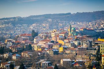 Veliko Tarnovo City Scape Bulgaria