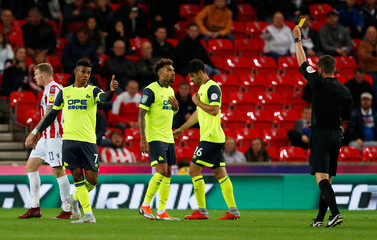 Carabao Cup Second Round - Stoke City v Huddersfield Town
