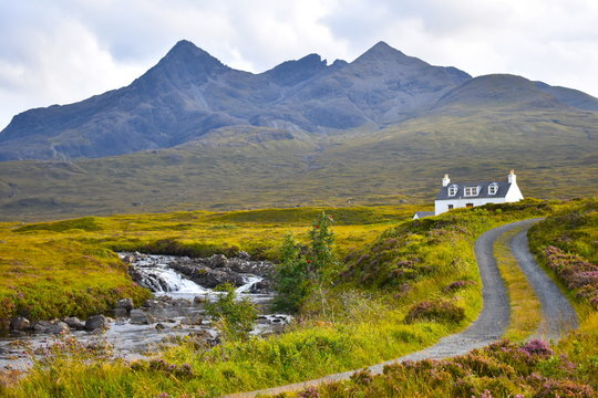 Welcome to Sligachan, one of the most beautiful and unique locations on the Isle of Skye and indeed in the whole of Scotland. Isle of Skye, Highland, Scotland, United Kingdom