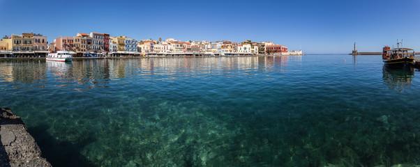 Foto auf Acrylglas Port La Canée (Crète - Grèce)