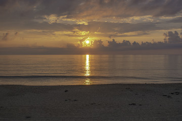 Sun Rise In The Outer Banks