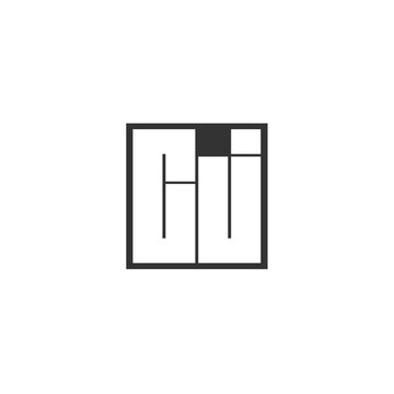 Initial Letter CJ Logo Template Design