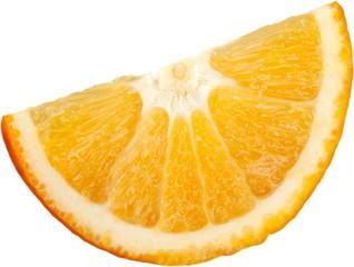 Orange wedge