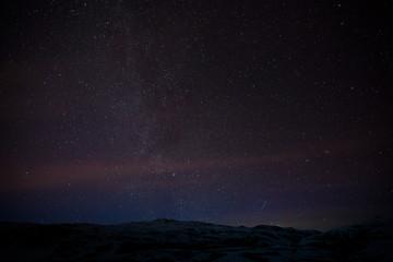 Milchstraße über Island