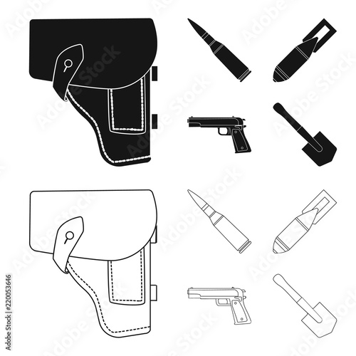 Holster Cartridge Air Bomb Pistol Military And Army Set