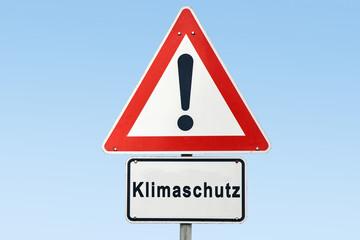 Schild 327 - Klimaschutz